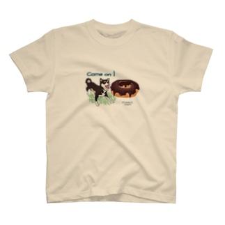 shibaのテイスティング  ドーナッツ T-shirts