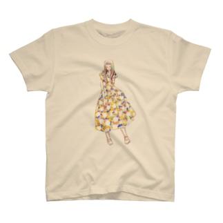 あの日の彼女001 T-shirts