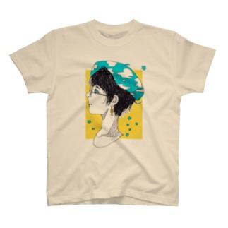 空色ベレー T-shirts
