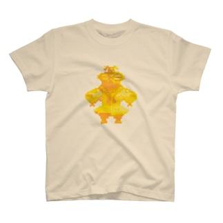 ドット 金ぴか土偶 T-shirts