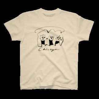 horimotoxxyukiのChicago T-shirts