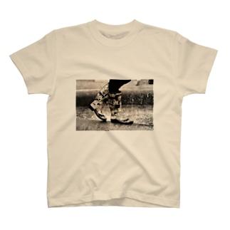 おしゃれ カジュアル レインブーツ T-shirts