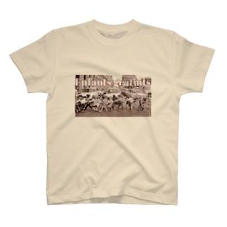 自由な子供達! T-shirts