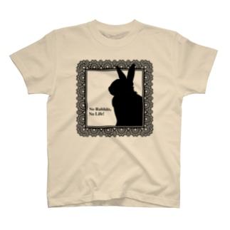 No Rabbits, No Life T-shirts