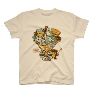 チョコミントパフェ T-shirts