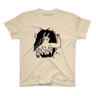 ヘドバンの鬼 T-shirts