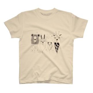 フワフワアニマル T-shirts