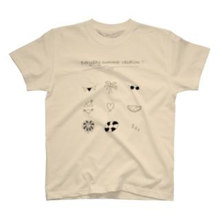 毎日が夏休み♪ T-shirts