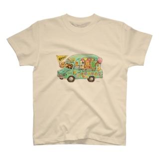 KU-MA アイスクリーム号 T-shirts