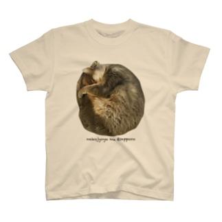 猫ジョユウ・空〜ku〜ぐーすか T-shirts