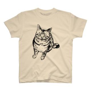 メシはまだか!? T-shirts