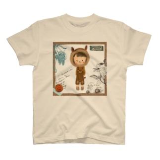 りすのこども T-shirts