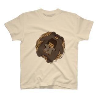 くまのおやこ T-shirts