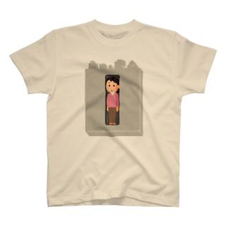 窮屈な世の中 T-shirts
