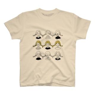 みつあみ T-shirts
