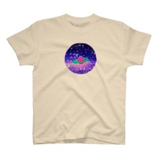 ださかわ宇宙/まる T-shirts