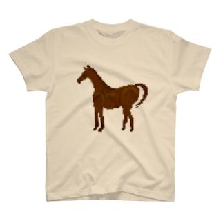 ドット 馬 T-shirts