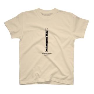 こむら*綾のソプラノリコーダー T-shirts