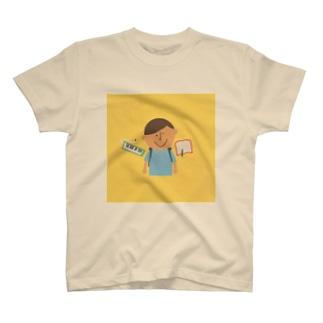 ランドセル、鍵盤ハーモニカ T-shirts