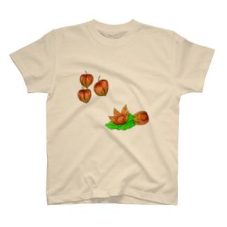 ホオズキ T-shirts