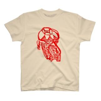 赤花の記憶 T-shirts