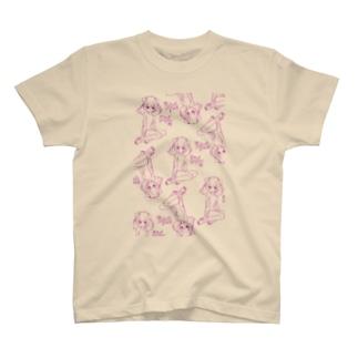 munimuのりすかねこみみ T-shirts