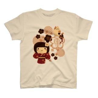 梅子ちゃんと猫さん T-shirts