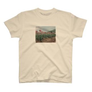 霜降り肉 模様 T-shirts