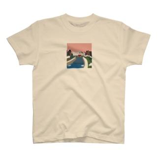 鴨 川 (夕) T-shirts
