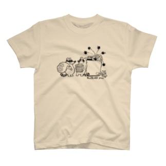 タヌキでないアライグマ T-shirts
