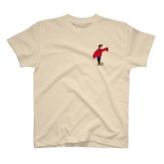 ケビンくんの赤パーカー T-shirts