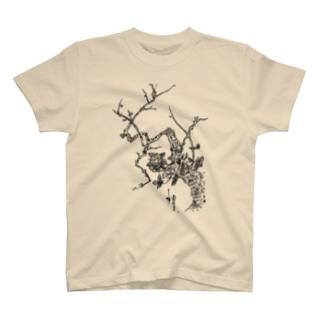 TSUBAKI × アラベスク T-shirts