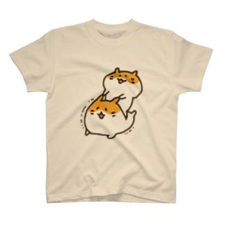 むにむにハムスター(カラー) T-shirts