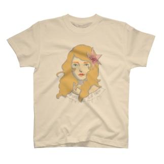 風の中の女の子 T-shirts