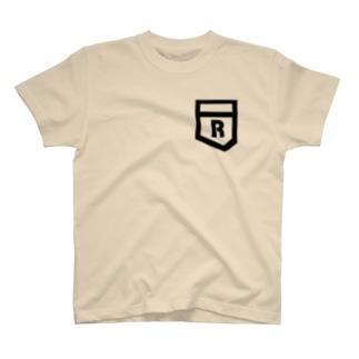 Rとポケット T-shirts