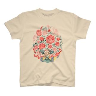 薔薇降りアリス T-shirts
