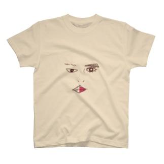 メーキャップ T-shirts