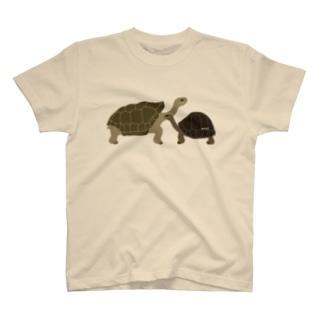 ゾウガメ T-shirts