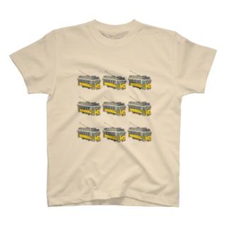 リスボントラム•パターン T-shirts