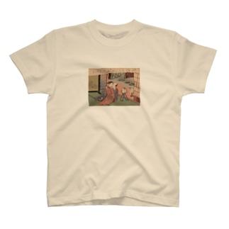 浮世絵(春画) T-shirts
