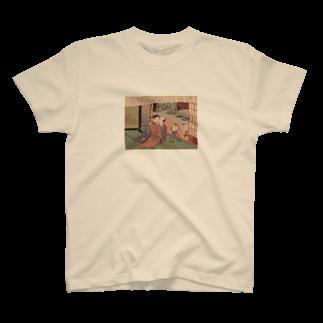 723ntmiiiの浮世絵(春画) T-shirts