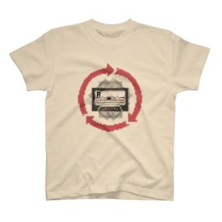テープ回し T-shirts