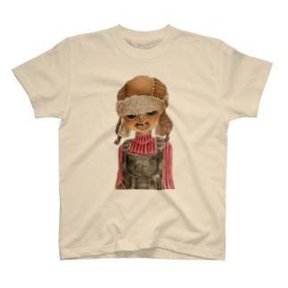 飛行帽ボーイTシャツ T-shirts