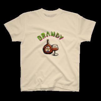 Yna SHOPのブランデー好きなあなたへ。 T-shirts