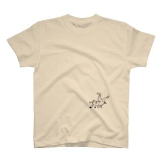 鳥獣戯画 T-shirts