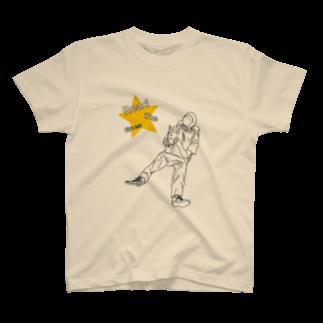 naotobrownのspace T-shirts