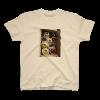 L_surrealのりんごが届いた T-shirts
