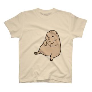 ずんぐりプレーリー T-shirts