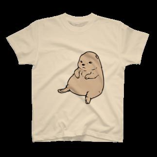 水道橋ですらのずんぐりプレーリー T-shirts
