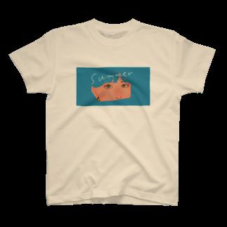 うまみの夏のめもと T-shirts
